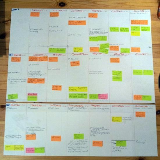 2013 Januar Planung 2